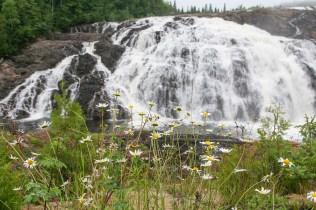 Scenic High Falls, Wawa, Ontario