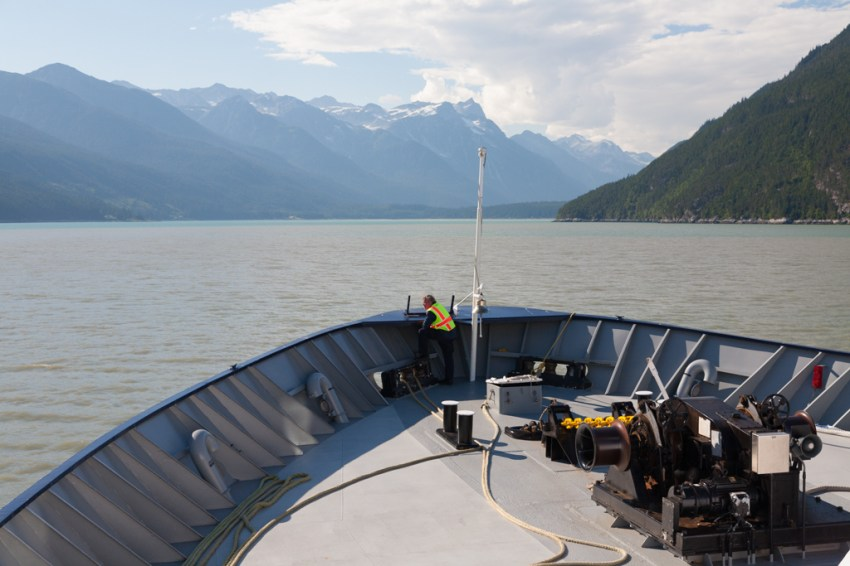 Ferry Crossing to Haines on the MV Malaspina