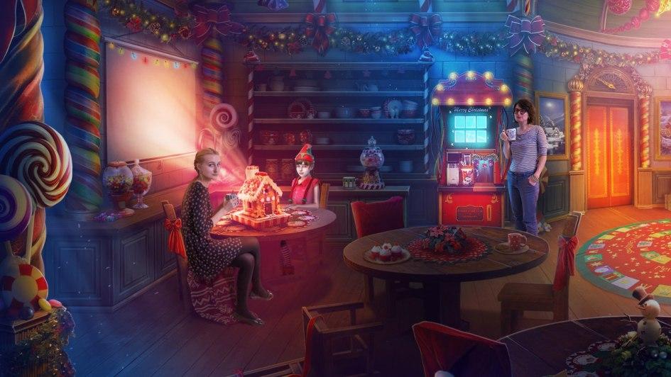 Разработчики Yuletide Legends: The Brothers Claus в интерьерах созданных ими локаций