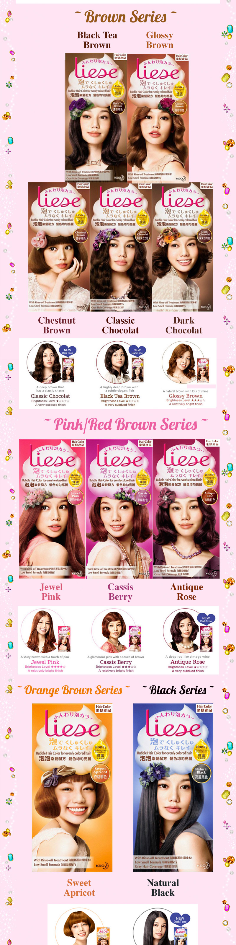 Buy LIESE Bubble Hair Color Deals For Only S995