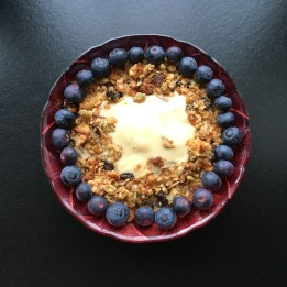 Blueberry & Raspberry Smoothie Bowl