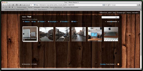 Photo Station Screen 1