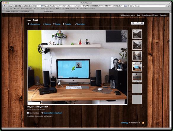 Photo Station Screen 2