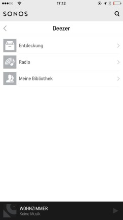 Sonos Controlle App iPhone6