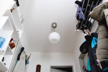 LED im geschlossenen Lampenschirm: funktioniert nicht.