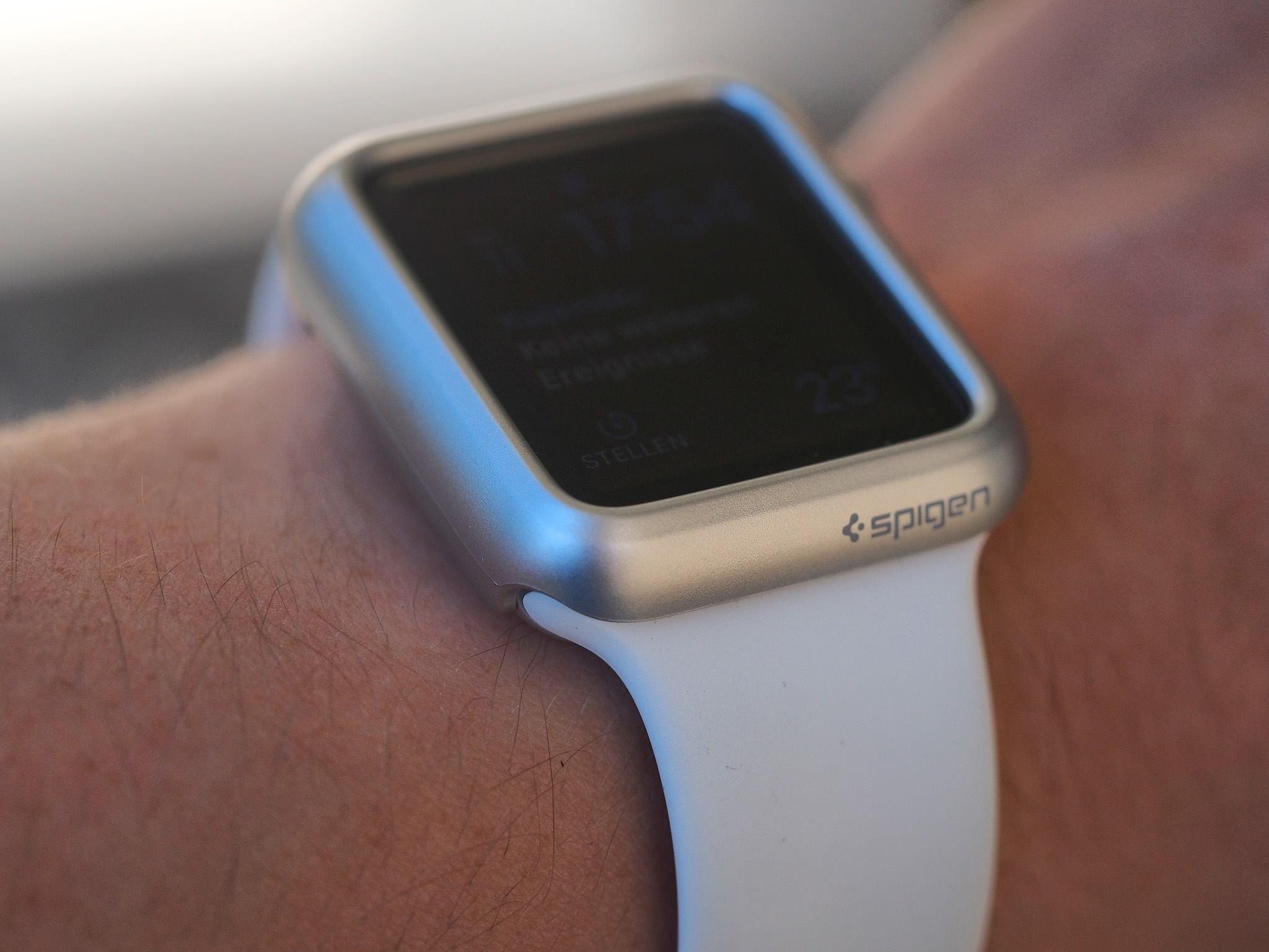 Sipgen Case for Apple Watch Thin Fit 9
