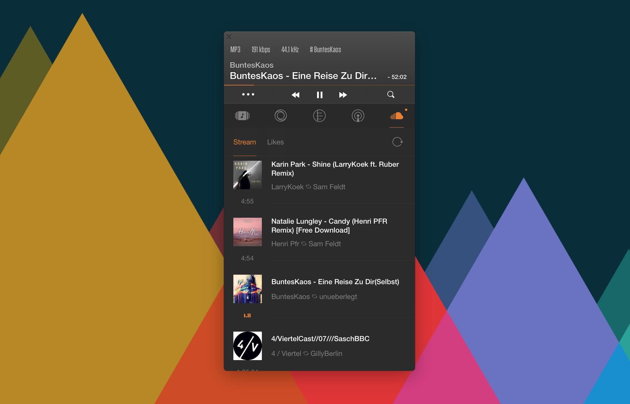 VOX Player Screenshot