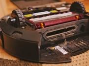 Der Roomba müsste mal sauber gemacht werden