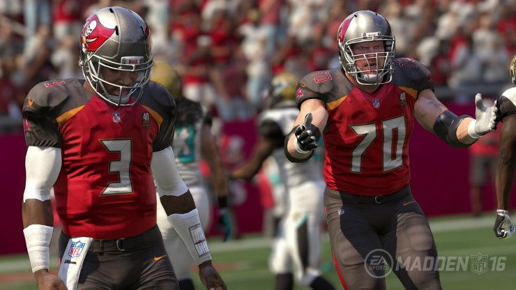 Bugs in Madden 16