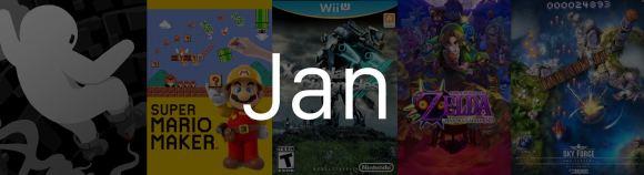 Top 5 Games Jan