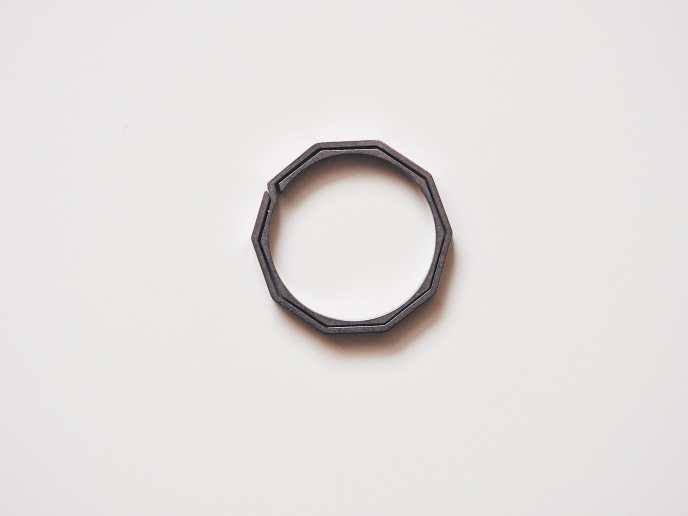 Handgrey Knox Titanium Split Key Ring P4141209