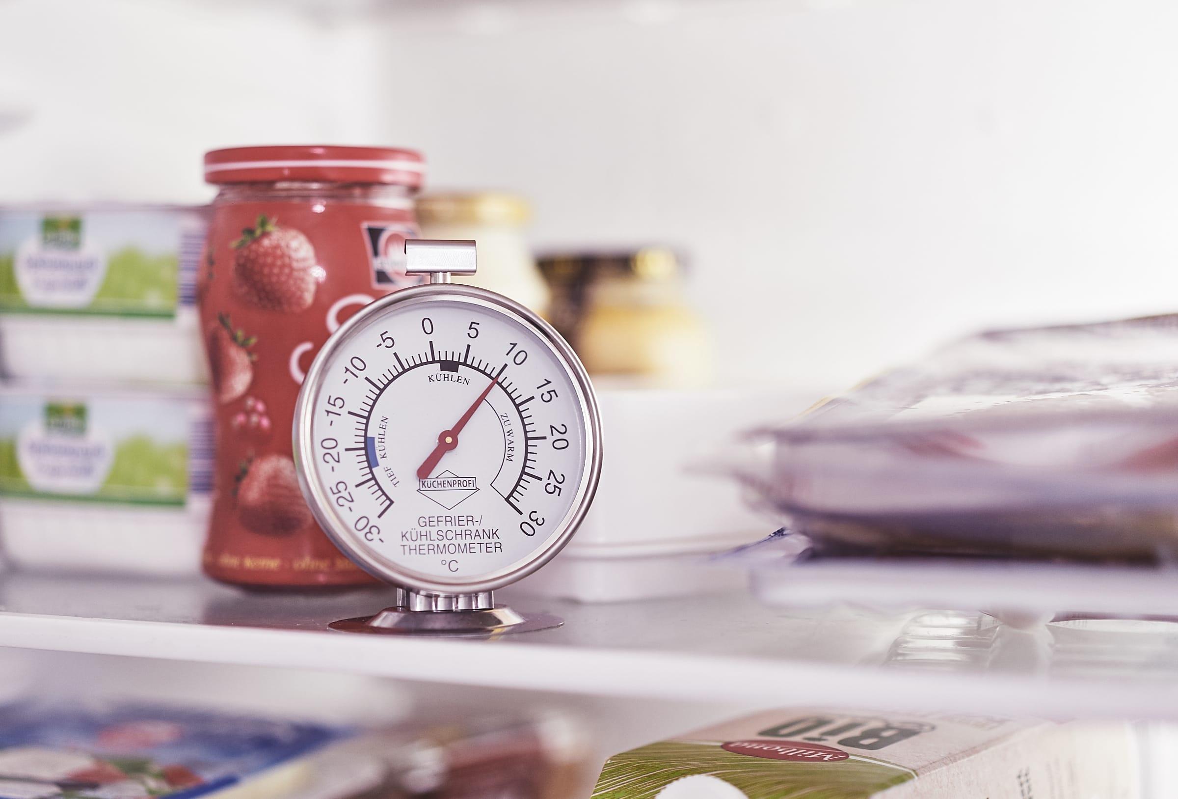 Kühlschrank Thermometer : Test kühlschrank temperatur korrekt einstellen mit diesem
