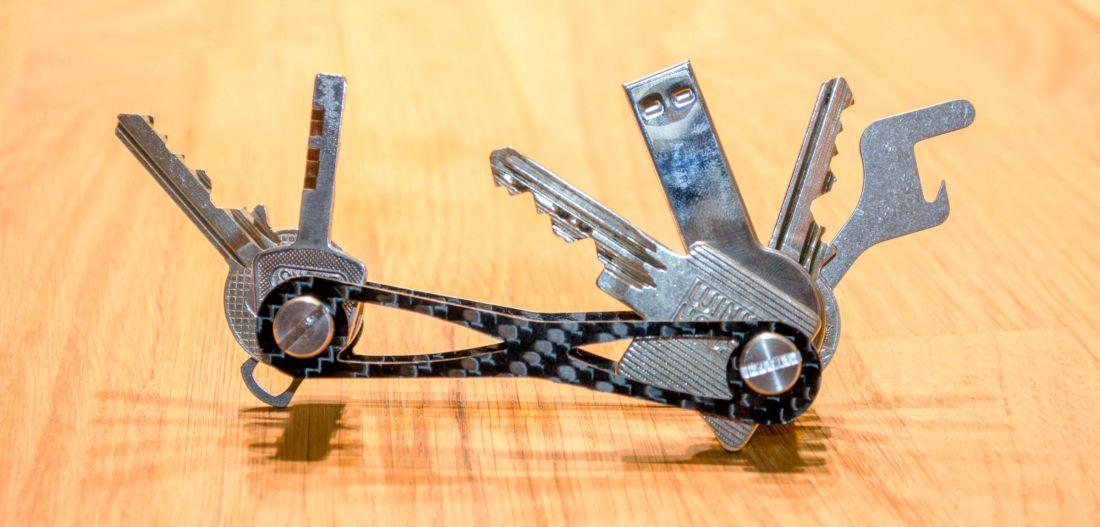 Mokey mit Schlüsseln