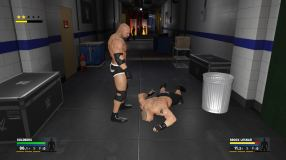 WWE 2K17 Review Backstage
