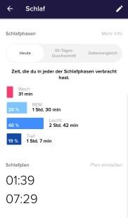 Fitbit Alta HR - Schlaf 2