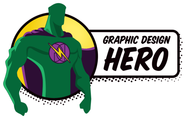 Graphic Design Hero Logo