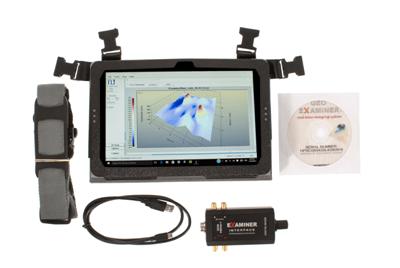 geo examiner geophysical detector standard equipment