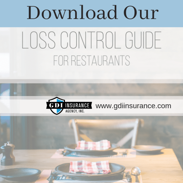 Loss Control Guide for Restaurants