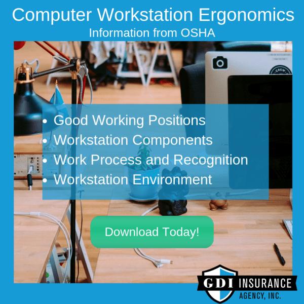 workstation ergonomics guide