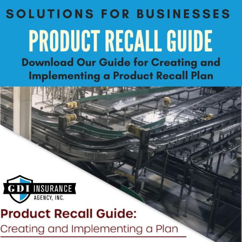 Product Recall Plan