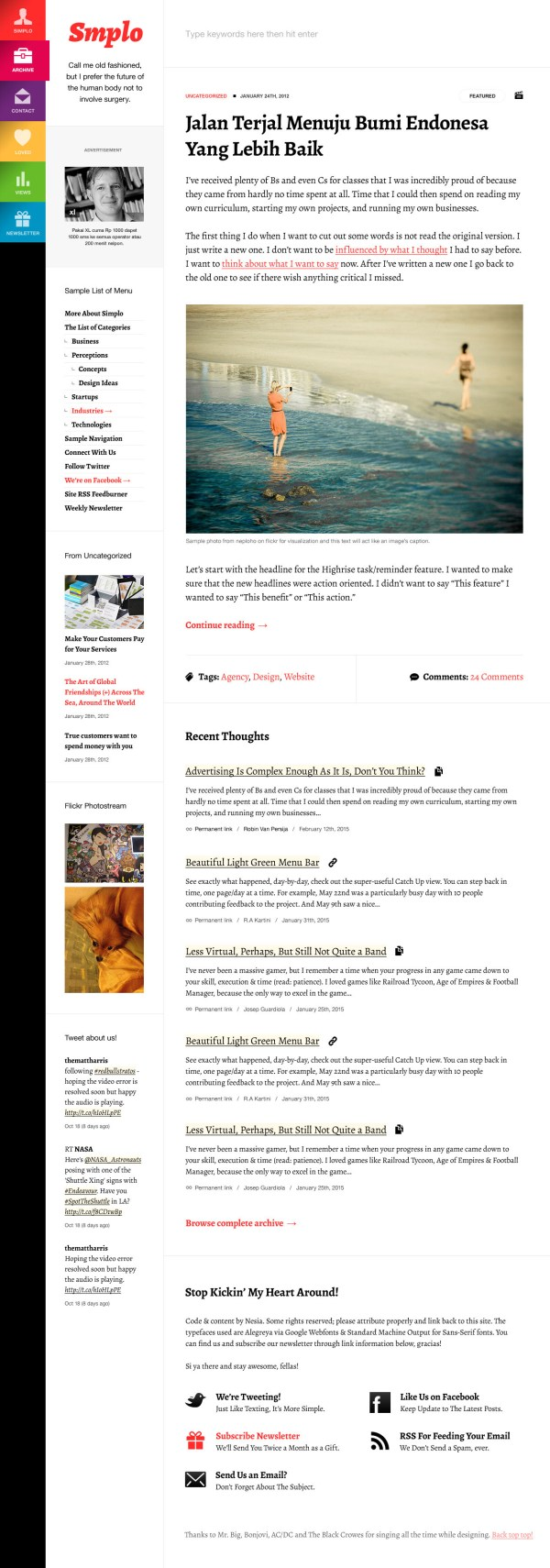 Fresh News & Magazine Responsive WordPress Themes ...