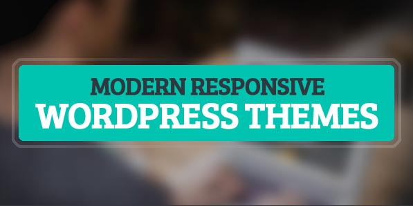 Modern Responsive WordPress Themes | Wordpress Themes ...