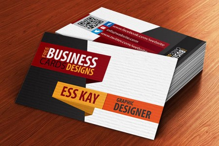Free Business Cards PSD Templates   Print Ready Design   Freebies     Free Creative Textured Business Card Design Template