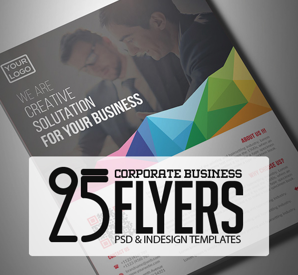25 Professional Corporate Flyer Templates   Design   Graphic Design     25 Professional Corporate Flyer Templates