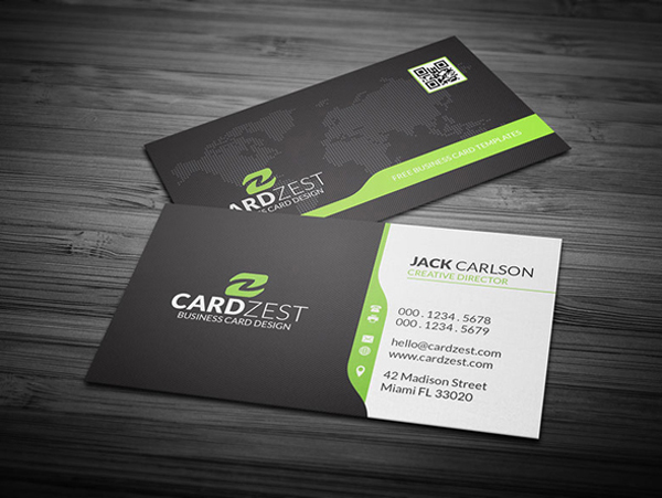 30 Free Business Card PSD Templates   Mockups   Design   Graphic     Free PSD Corporate Business Card Template