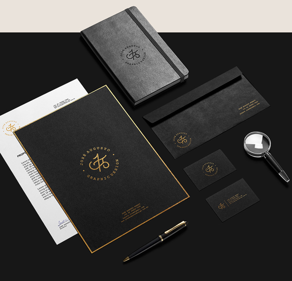 Branding: Personal - Stationary Items -