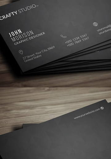 HD Decor Images » Free Business Card Templates   Freebies   Graphic Design Junction 26 Modern Free Business Cards PSD Templates   4  Download Link