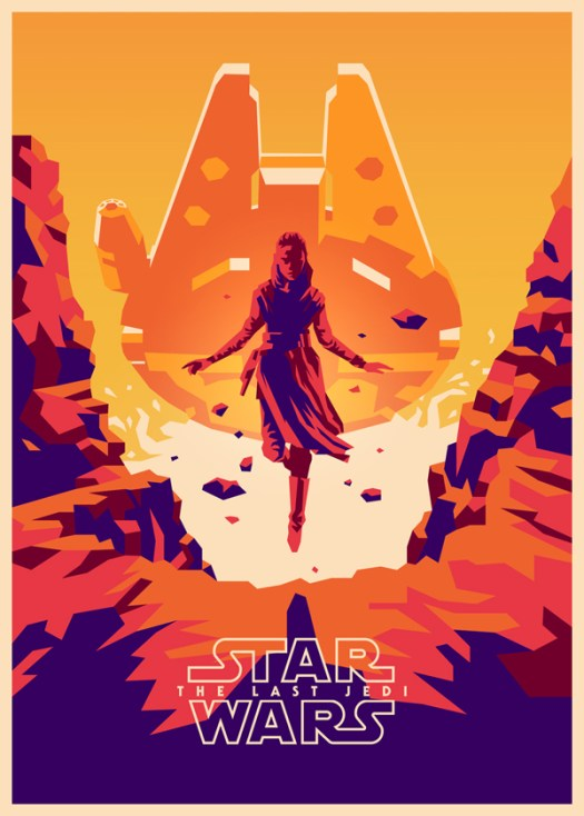 Amazing Illustration of Star Wars: The Last Jedi 4