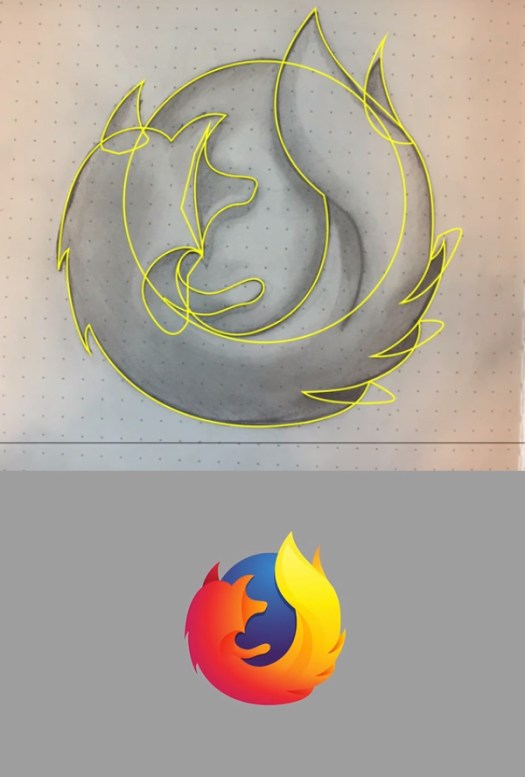 How to Design Professional Firefox Logo from a Sketch in Illustrator