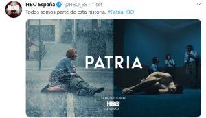 locandina sceneggiato TV Patria