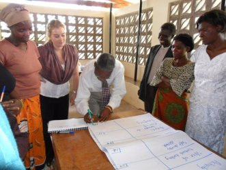 Directing a Needs Assessment Activity, with Community Leaders Chipata, Zambia