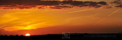 Sunset near Breedon on the Hill