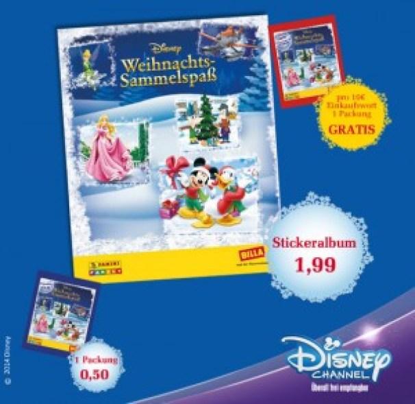 Billa Natale con Disney e Panini