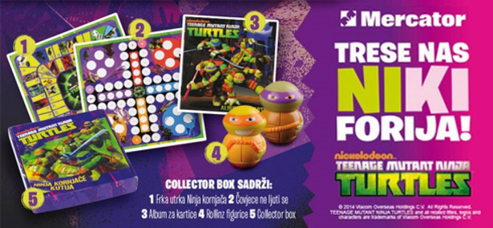 Turtles Collector-box