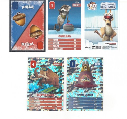 Intermarché Ice Age Card