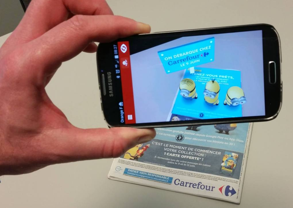 Carrefour Minions App