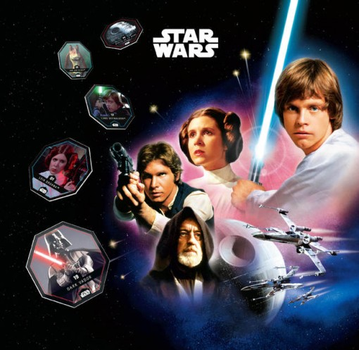 Leclerc Star Wars Album