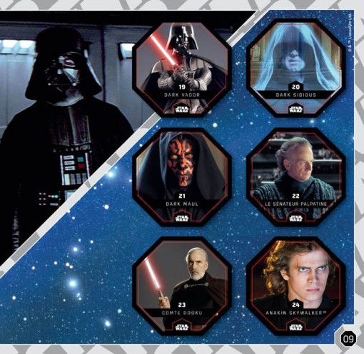 Leclerc Star Wars card