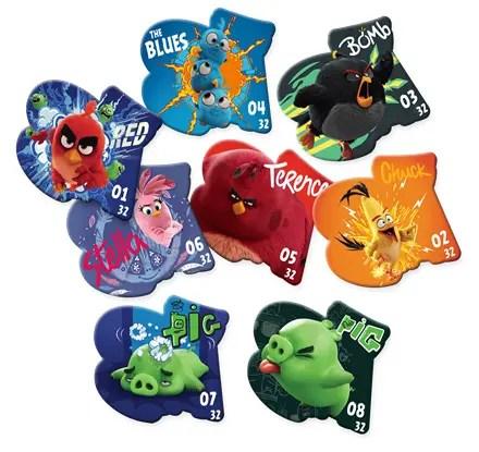 Billa HR Angry Birds Flyers
