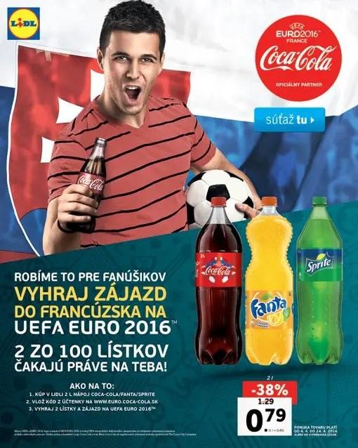 Lidl SK Vinci con Coca cola