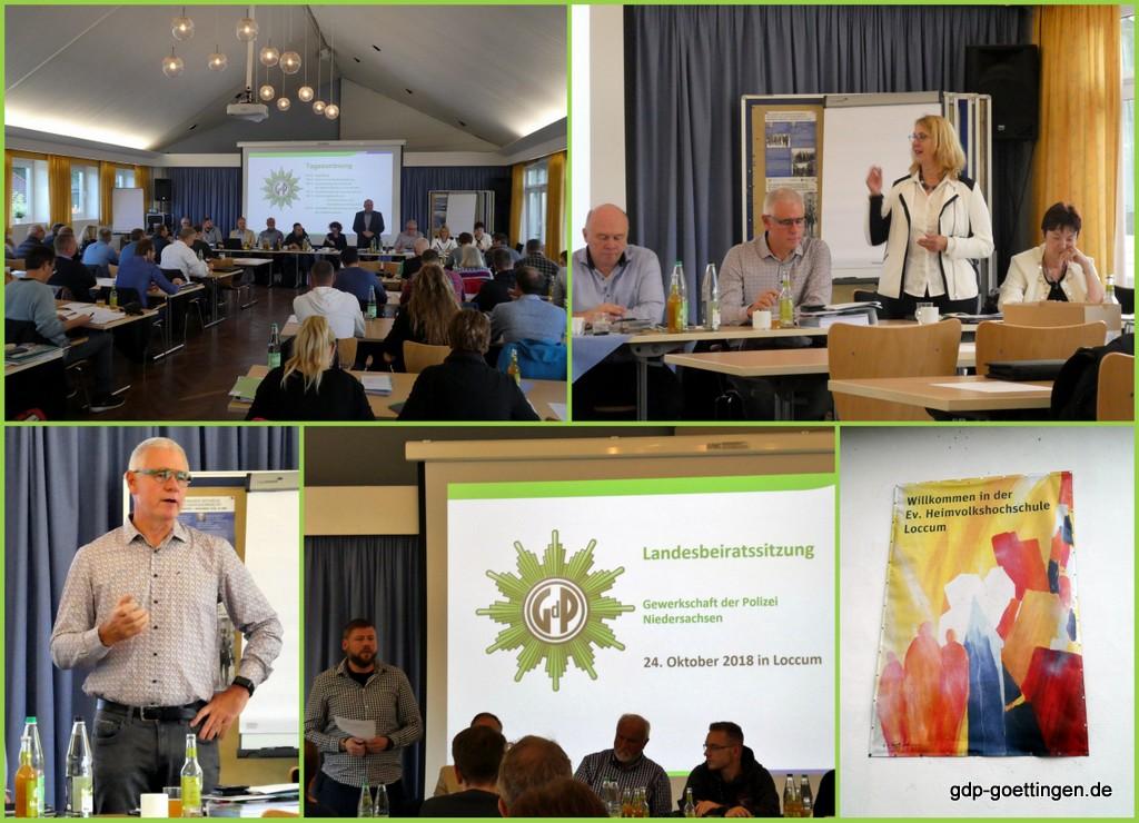GdP Landesbeiratssitzung in Loccum