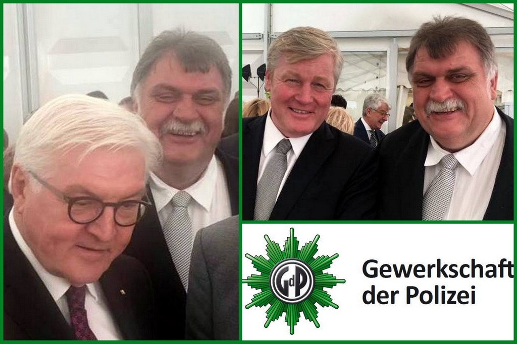 Klaus Timke trifft den Bundespräsidenten