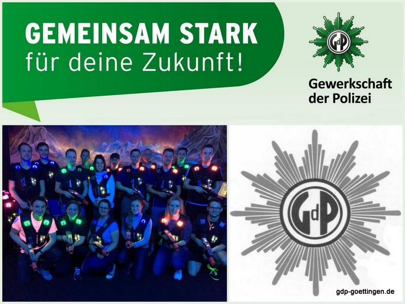 Lasersport in der GdP KG Göttingen
