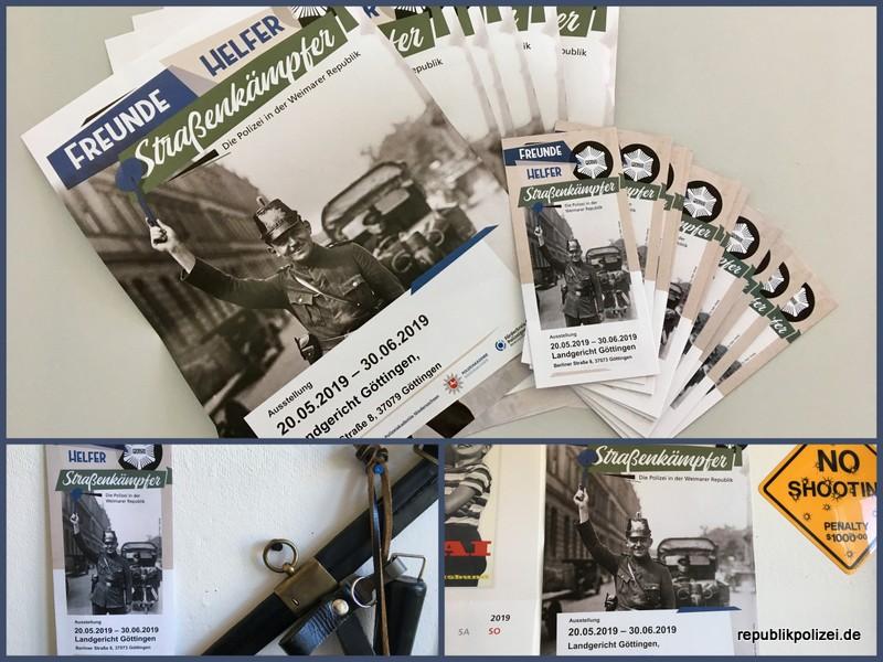 Göttingen zeigt: Freunde, Helfer, Straßenkämpfer – Die Polizei in der Weimarer Republik