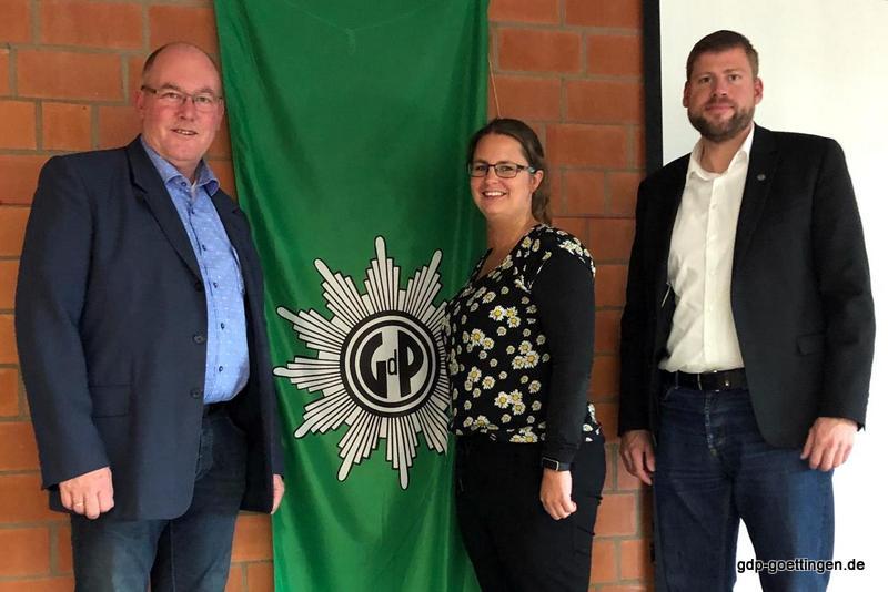 Jahreshauptversammlung der Gewerkschaft der Polizei (GdP) –Kreisgruppe Göttingen- am 18.09.2019 –Kollege Gerd Hartung aus Hann Münden neuer Vorsitzender-