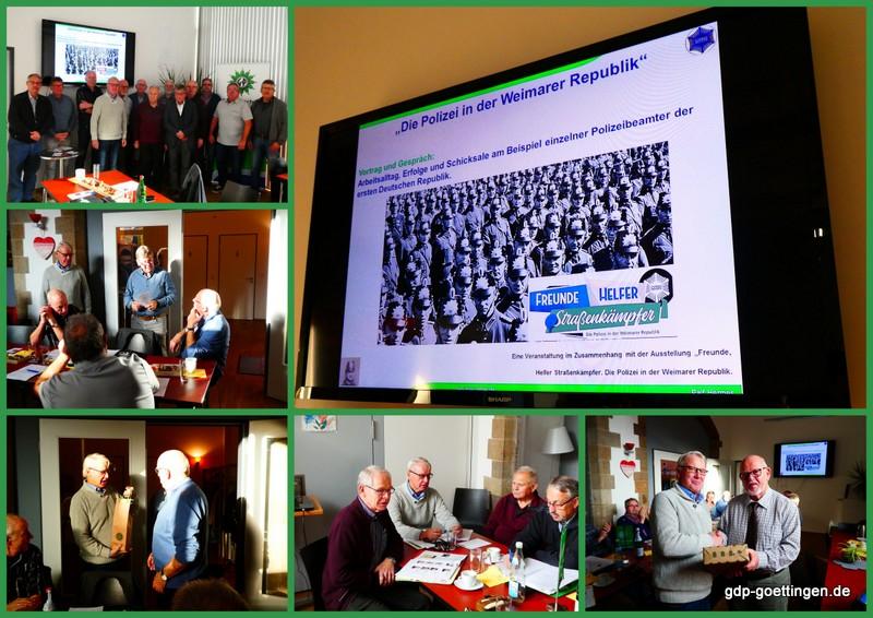 Langjährige Seniorensprecher in der GdP BG Göttingen würdig verabschiedet – Bericht von der erweiterte Vorstandssitzung der Seniorenvertreter der BG PD Göttingen in Hameln
